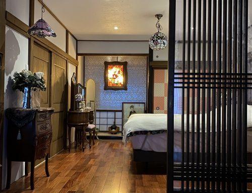所沢一般住宅リフォーム 和室を大正ロマンな寝室へ【KAWAYA-DESIGNリフォーム】