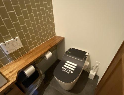 カフェのトイレ【所沢市店舗リフォーム】
