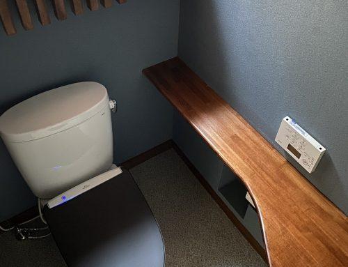 老舗にふさわしい風格漂うトイレ